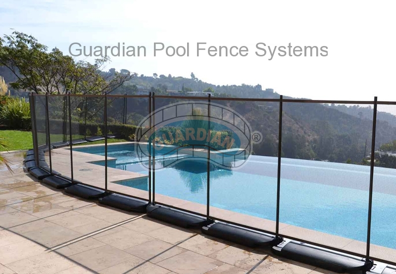 No Hole Safety Pool Fence Island Pool Services