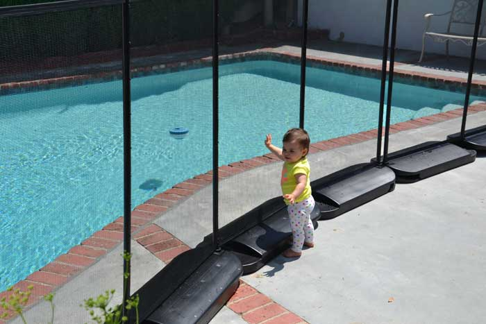 No Hole Safety Pool Fence